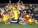 El Villarreal gana por primera vez la Copa de Campeones juvenil