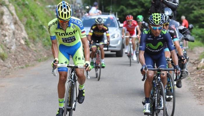 Alberto Contador y Nairo Quintana han medido sus fuerzas en la Ruta del Sur