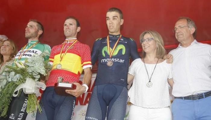 Alejandro Valverde es el nuevo campeón de España en ruta
