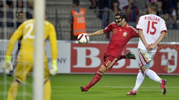 España ganó por la mínima a Bielorrusia