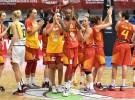 Eurobasket femenino 2015: España sigue invicta y jugará en cuartos contra Montenegro