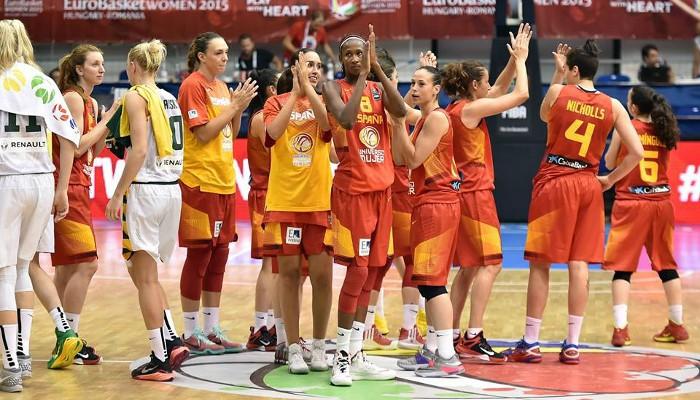 España supera la primera fase del Eurobasket femenino con sobresaliente