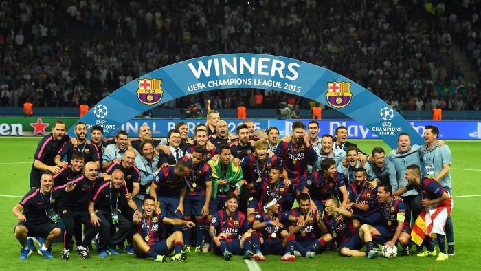 El Barcelona ya es pentacampeón de Europa