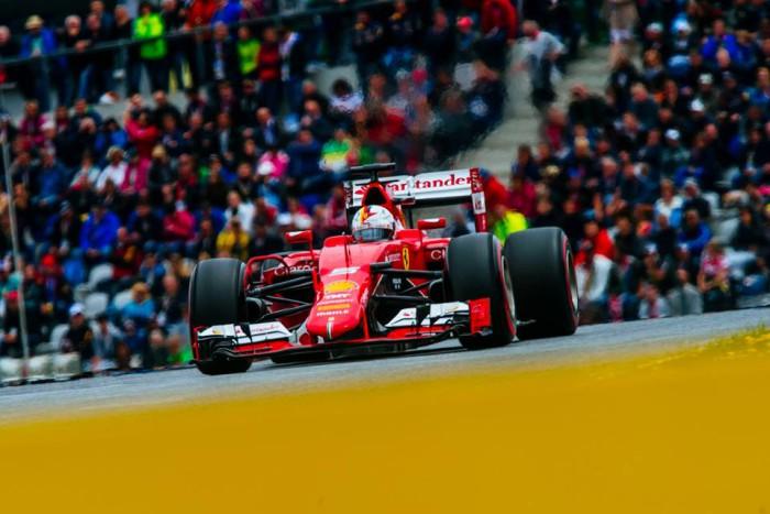 Ferrari en el GP de Austria