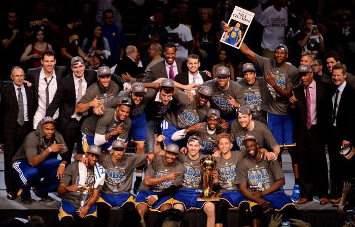 Golden State Warriors ganan el título de la NBA de 2015
