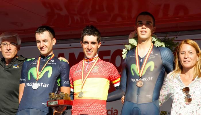 Jonathan Castroviejo, nuevo campeón de España contrarreloj