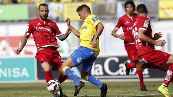 Las Palmas superó al Zaragoza y asciende a Primera División