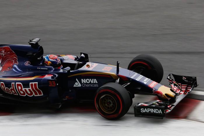 Max Verstappen en Canada