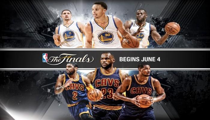Cavaliers y Warriors juegan la final de la NBA de 2015