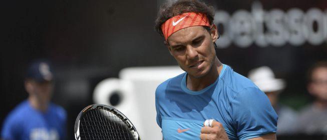 Nadal a semifinales en Stuttgart
