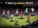 Liga Española 2014-2015 2ª División: el once ideal de la temporada en la Liga Adelante