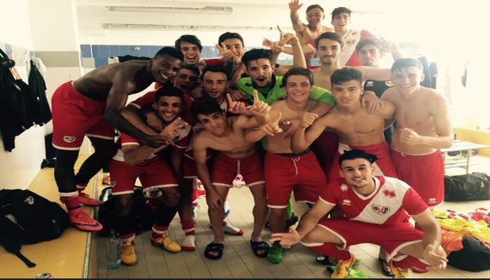 El juvenil del Rayo Vallecano ganó por primera vez la Copa del Rey