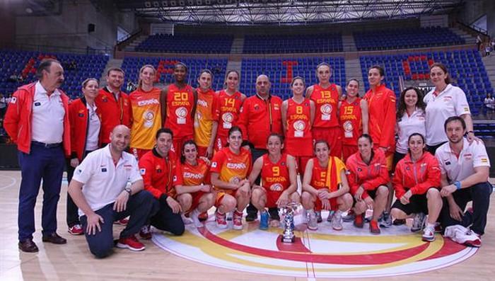 La selección española defenderá su título en el Eurobasket 2015