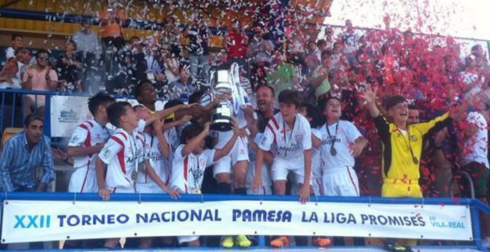 El Sevilla alevín ganó el Torneo Nacional celebrado en Villarreal