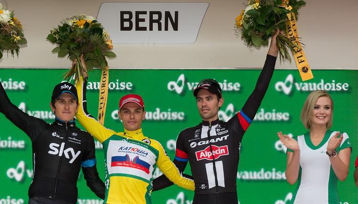 Simon Spilak ganó la general del Tour de Suiza 2015
