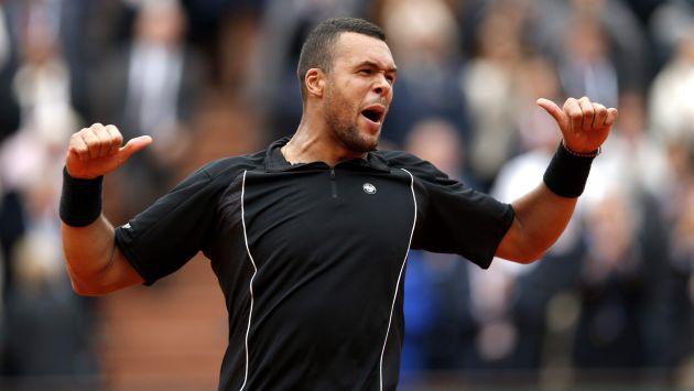 Tsonga semifinalista en Roland Garros