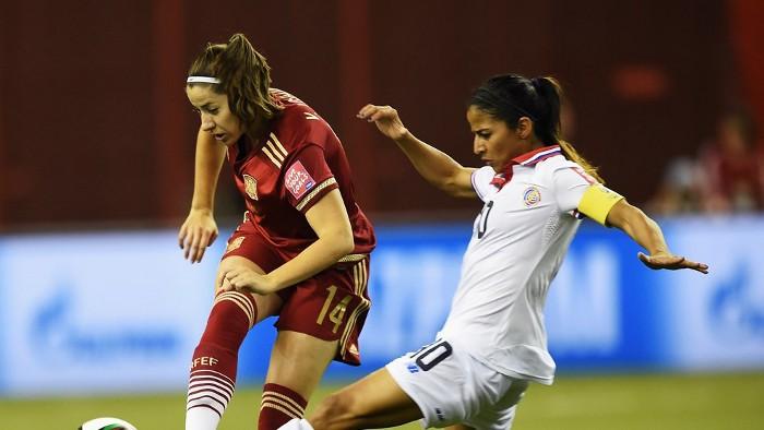 Vicky Losada marcó el primer gol de España en un Mundial