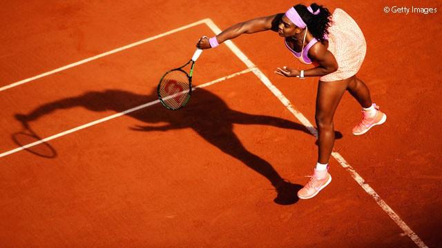 Williams a semifinales en Rolanga