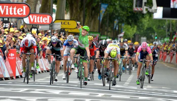 El alemán Greipel consigue su segunda victoria de etapa en el Tour