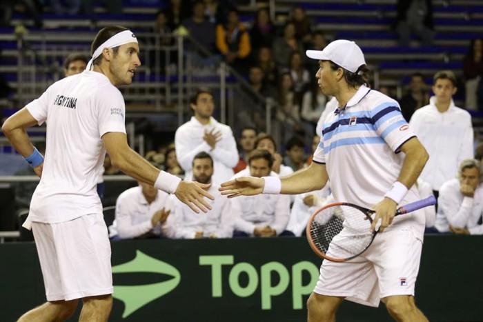 Argentina se mete en semifinales de la Copa Davis
