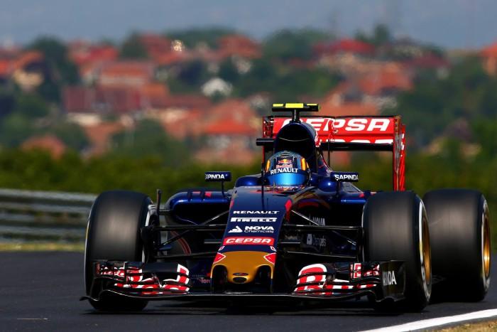 Carlos Sainz Jr. en Hungria