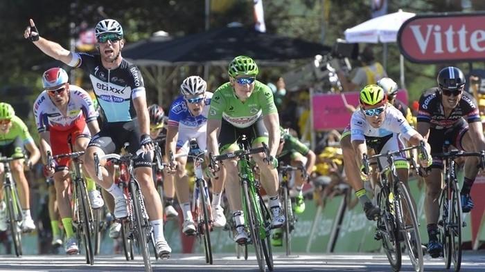 Tour de Francia 2015: Mark Cavendish gana al sprint la séptima etapa