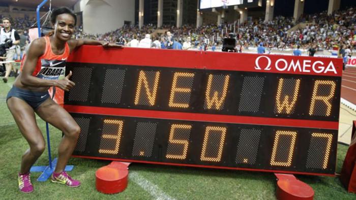 Dibaba es la nueva recordwoman del 1500