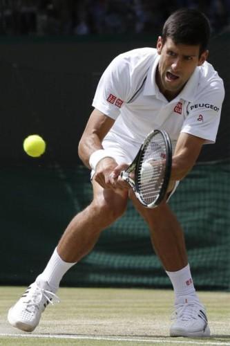 Djokovic a semifinales en Wimbledon