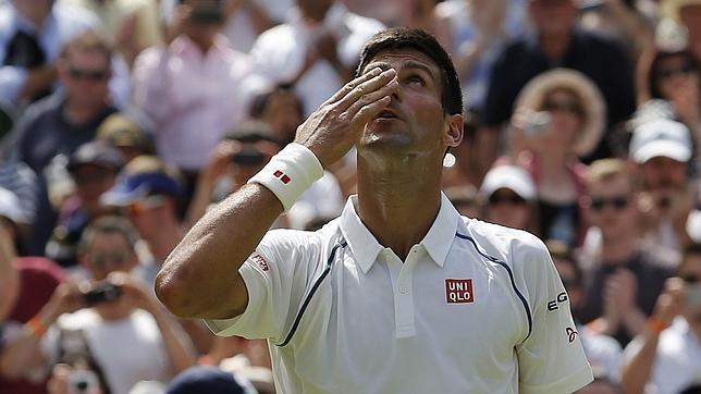 Djokovic despide a Nieminen de Wimbledon