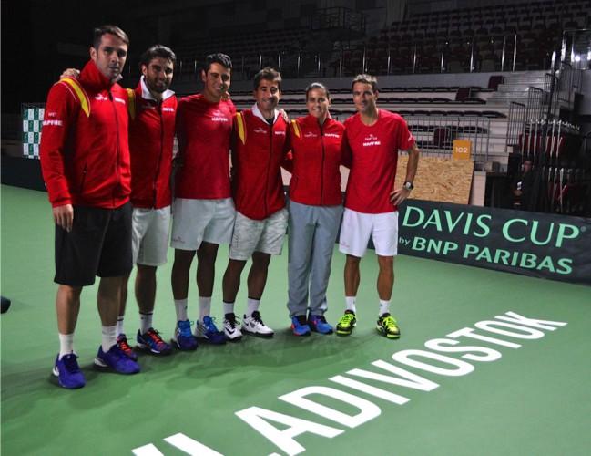 Equipo de España para la Copa Davis