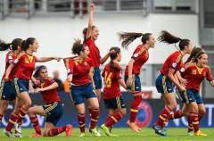España gana el Europeo sub 17 de fútbol femenino de 2015