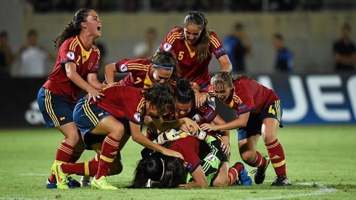 España sub 19 finalizó en segunda posición el Europeo femenino