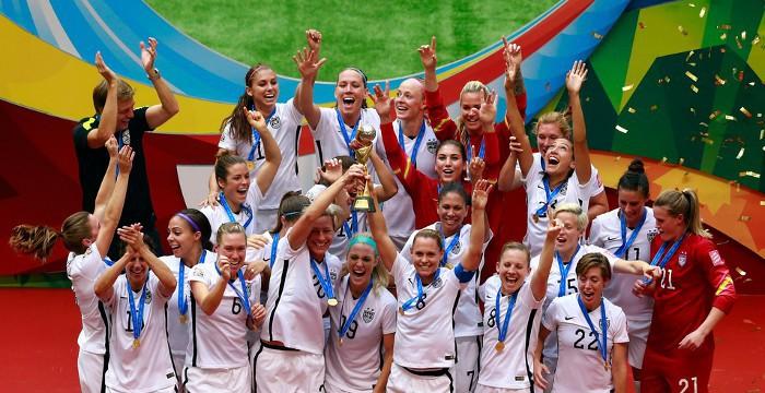 Estados Unidos ganó el Mundial de fútbol femenino de 2015