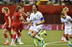 Mundial de fútbol femenino 2015: Estados Unidos y Japón jugarán la final
