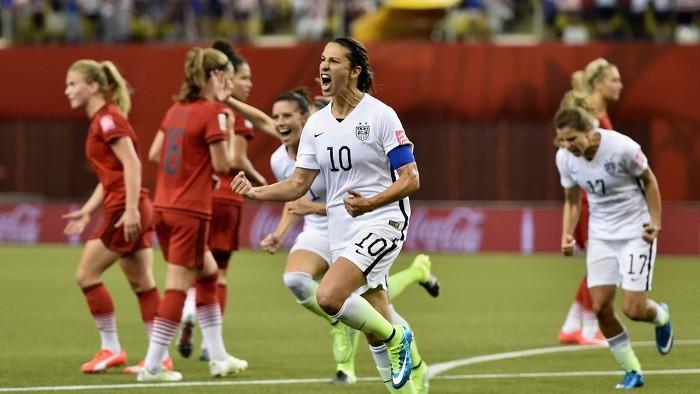 Estados Unidos jugará la final del Mundial de fútbol femenino