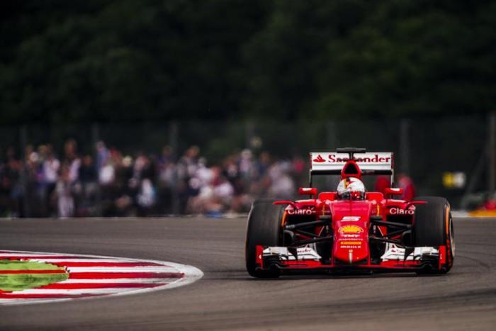 Ferrari en Silverstone