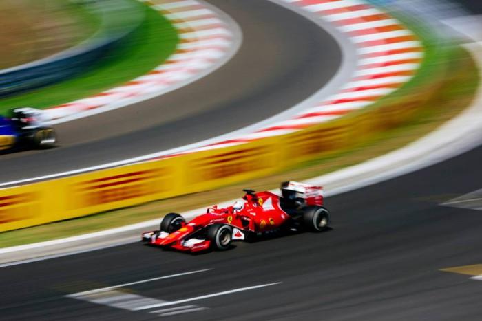 Ferrari en el GP de Hungria