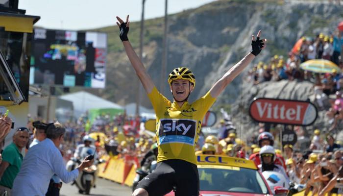 Froome consiguió una brillante victoria en la primera etapa de montaña del Tour