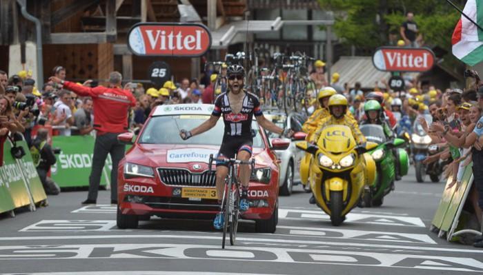 Geschke logró la gran victoria de su carrera en el Tour 2015