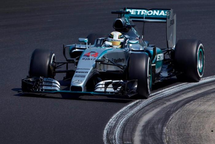 Lewis Hamilton en Hungria