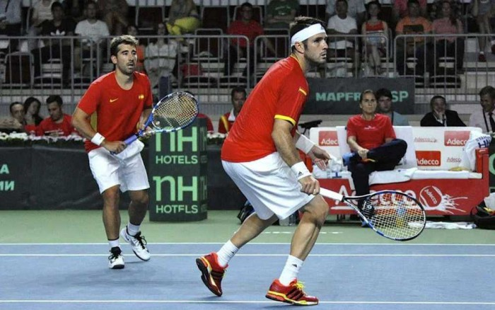 Marc Lopez y David Marrero