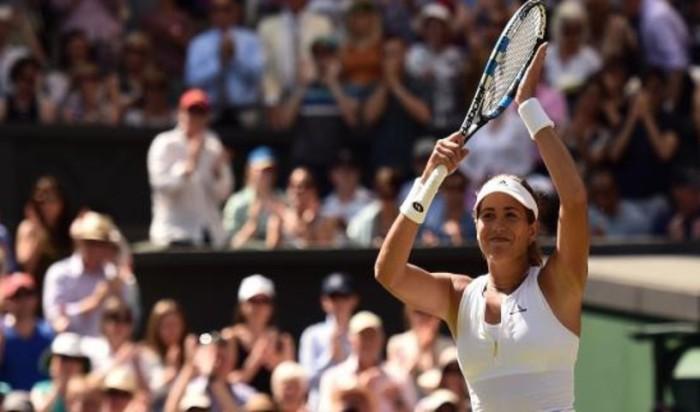 Muguruza a la final de Wimbledon