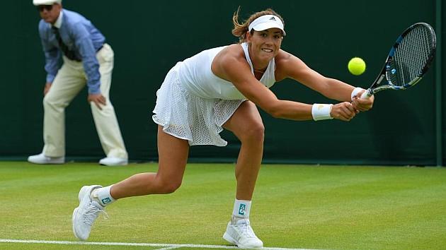 Muguruza a tercera ronda en Wimbledon