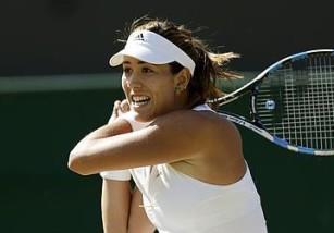 Wimbledon 2015: Muguruza y Sharapova primeras semifinalistas