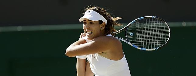 Muguruza semifinalista en Wimbledon