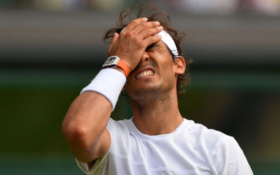 Nadal cae en Wimbledon ante Brown
