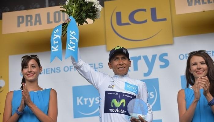 Nairo Quintana ganó la clasificación de los jóvenes del Tour 2015