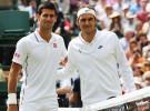 Wimbledon 2015: previa, horario y retransmisión de la final masculina Roger Federer-Novak Djokovic