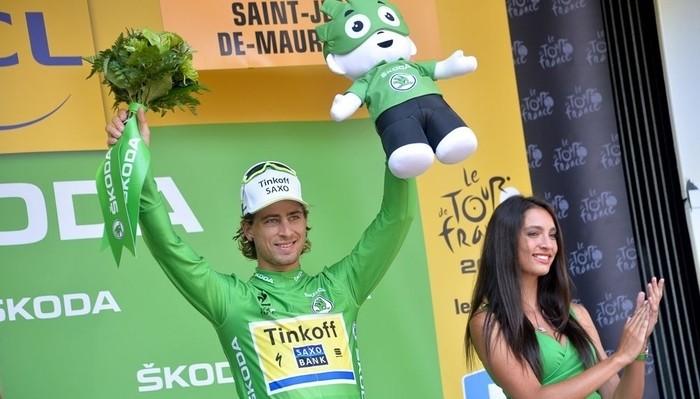 Sagan gana la regularidad del Tour por cuarto año consecutivo