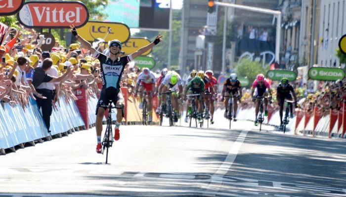 Stybar ganó la etapa con final en Le Havre